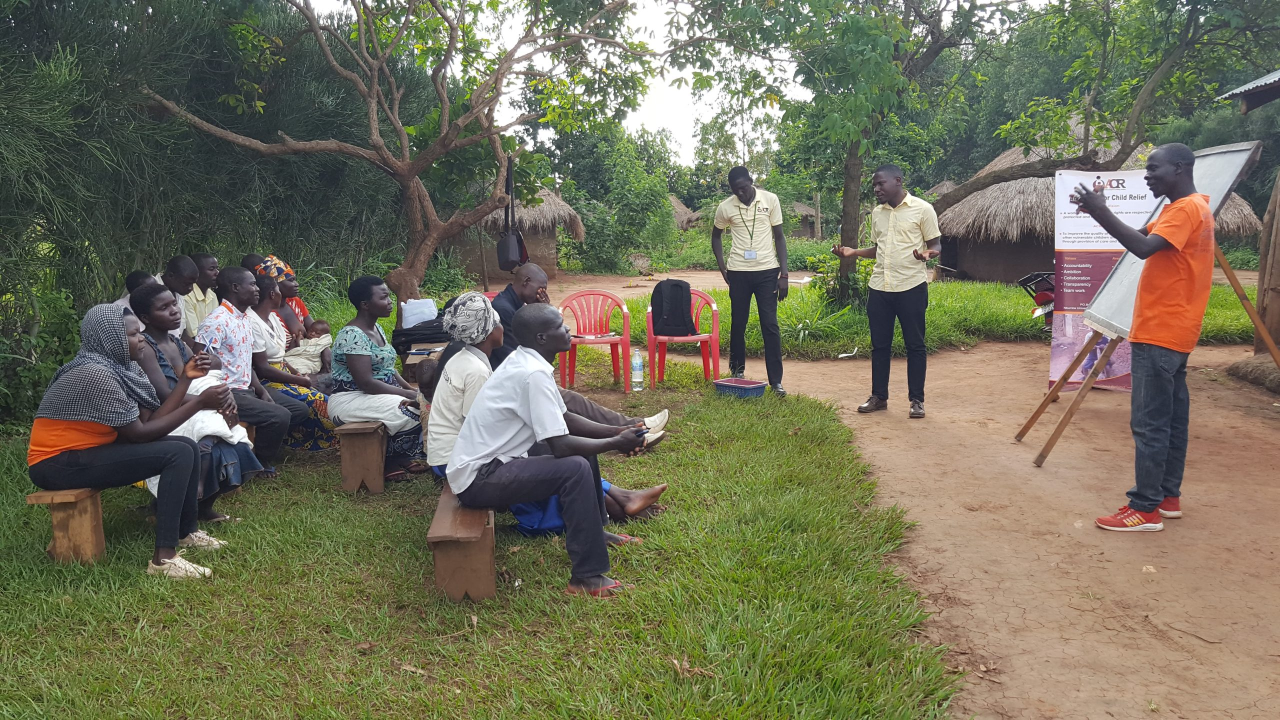 Strengthening Community-Based Child Protection systems